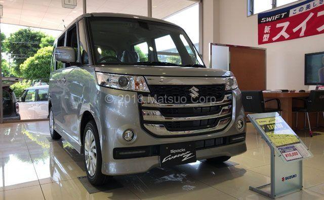 スペーシア カスタムZの展示車