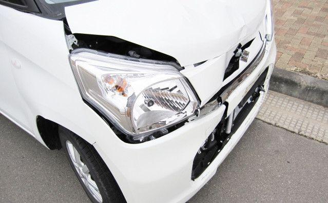 軽自動車の事故車