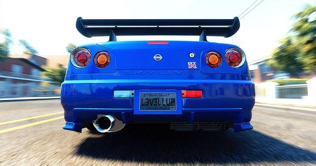 日産・GT-R(R34)